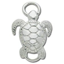 Sea Turtle - Sterling Silver Convertible Clasp by LeStage