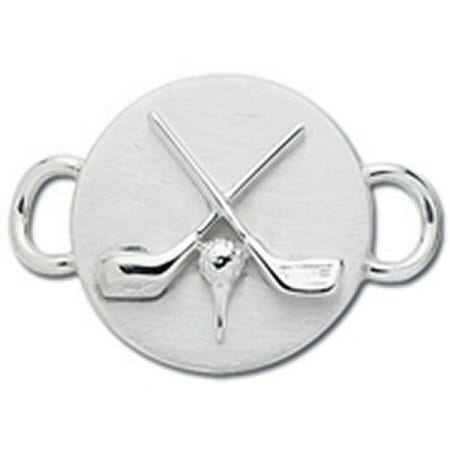 Golf Clubs - Sterling Silver Convertible Clasp by Lestage