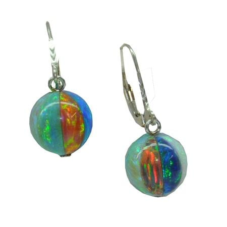 Colored Gemstone Earrings