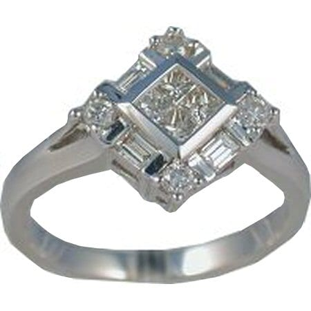 0.50 cttw. diamond ring