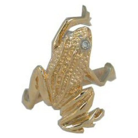 Frog Ring in Yellow Gold
