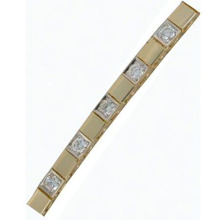 add a diamond bracelet