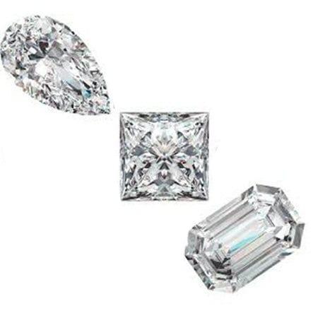 Fancy Shape Diamonds - White Only