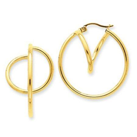 Roller Coaster Hoop earrings