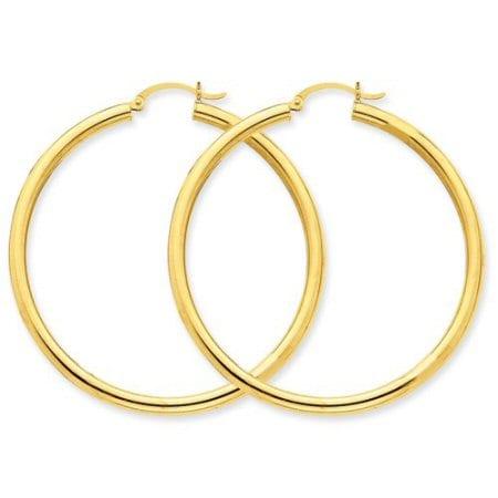 Light Tube Hoop Earrings