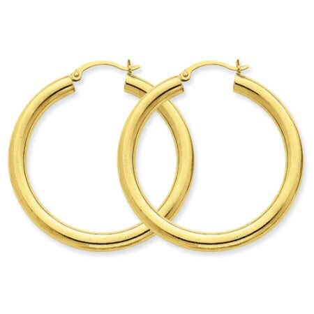 4 mm hoop earrings