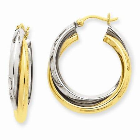 TT Double Hoop Earrings