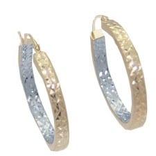 2 MM Tube Hoop Earrings