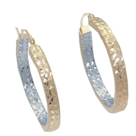 2 MM Tube Hoop Earrings