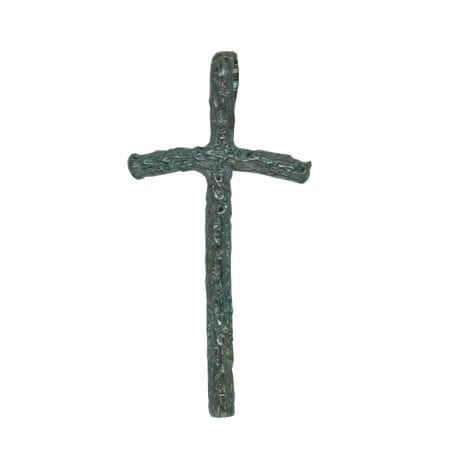 Blackened Silver Cross