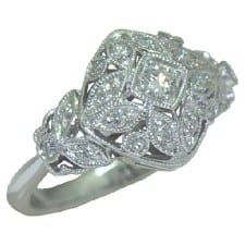 0.35 cttw. Diamond ring