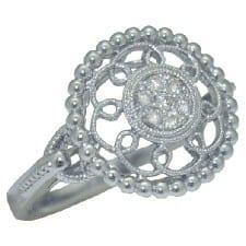 0.10 cttw. Diamond Ring