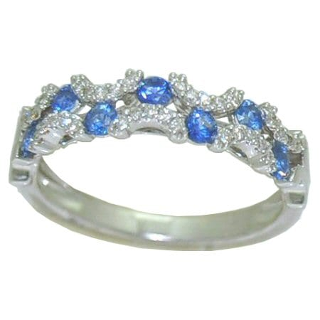 stackable sapphire ring