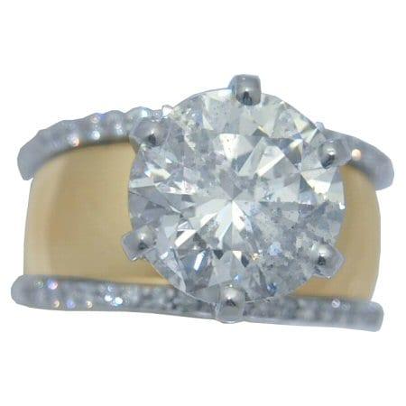 5.68 cttw. Diamond Ring