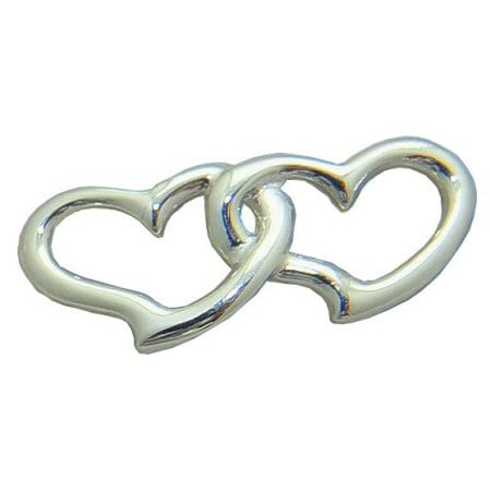 double heart convertible clasp