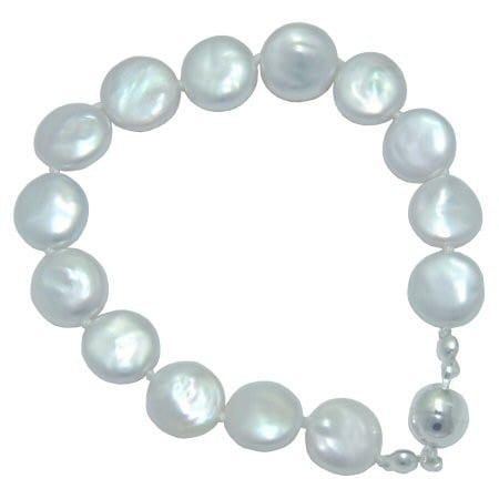 Mini coin pearl bracelet