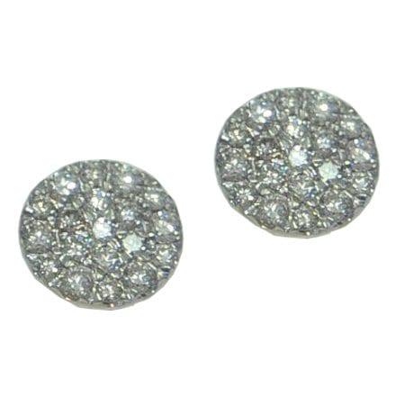 .49cttw cluster earrings