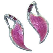 Silver Post Earrings