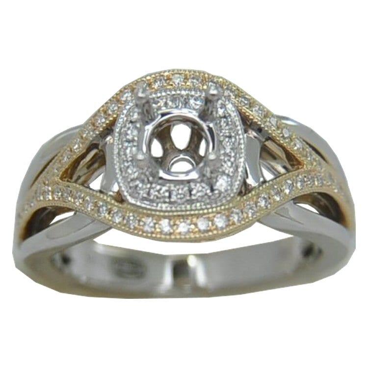 Diamond Semi-Mount Engagement Rings