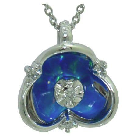 illusia opal pendant