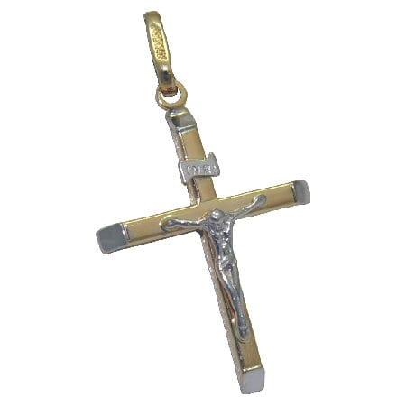 crucifix in 14 k tt