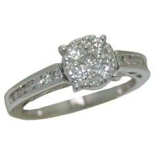0.75 cttw. Diamond Ring