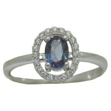 Oval Alexandrite Ring