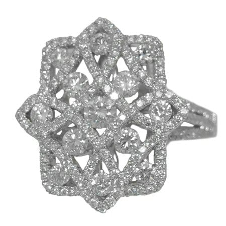 1.36 cttw. Diamond Ring