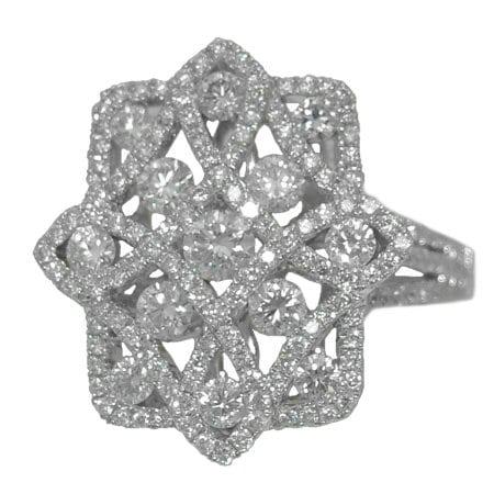 1.36 cttw. Diamond Ring