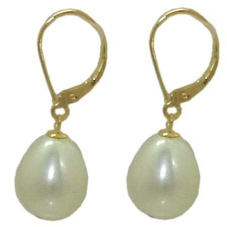 10.5 mm Pearl Drop Earrings