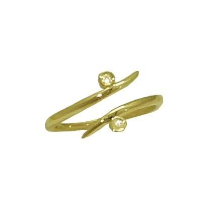 0.01 cttw. Double Diamond Ring