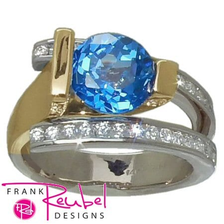 Kashmere Blue Topaz Ring