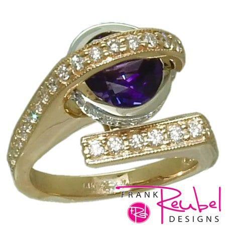 2 carat Amethyst Ring