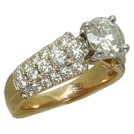 2.39 cttw. Diamond Engagement Ring