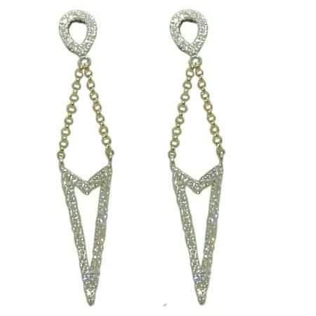 0.52 cttw. Diamond Earrings