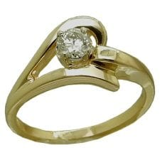 0.25 carat diamond ring