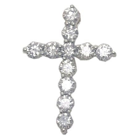 1.50 cttw. Diamond Cross