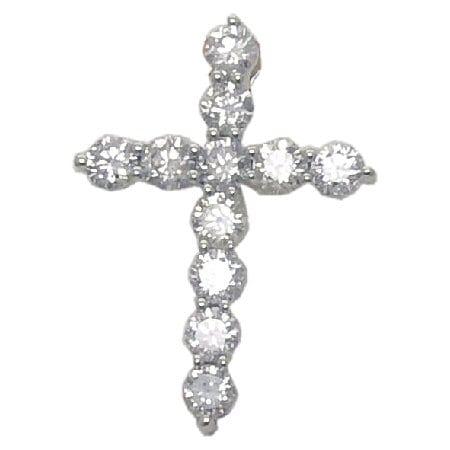 1.50 cttw. Diamond Cross
