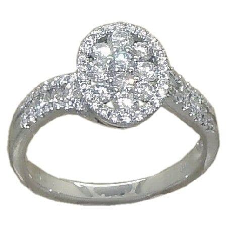 0.73 cttw. Diamond Ring
