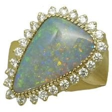 3.13 Ct. Opal Ring