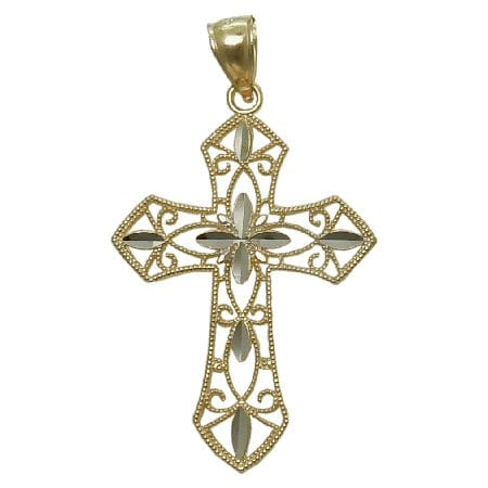 Filligree Cross Necklace
