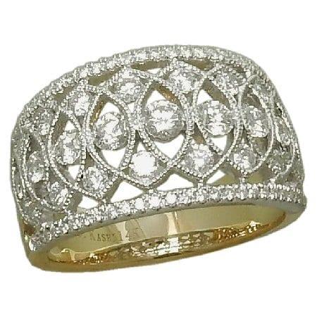 0.99 cttw. Diamond Ring