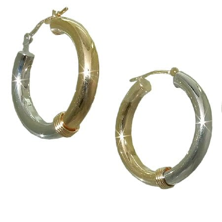 hoop earrings