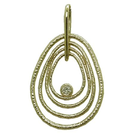 0.04 Carat Diamond Necklace