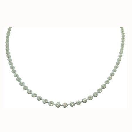 5 cttw diamond necklace