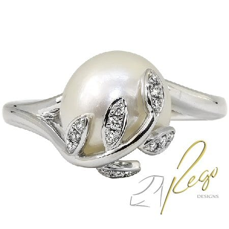 10 mm Cultured Pearl Ring