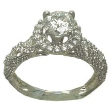 1.63 cttw. Diamond Engagement Ring