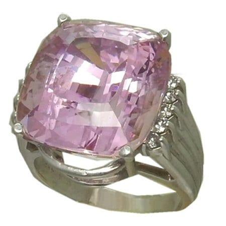 9.7 Carat Kunzite Ring