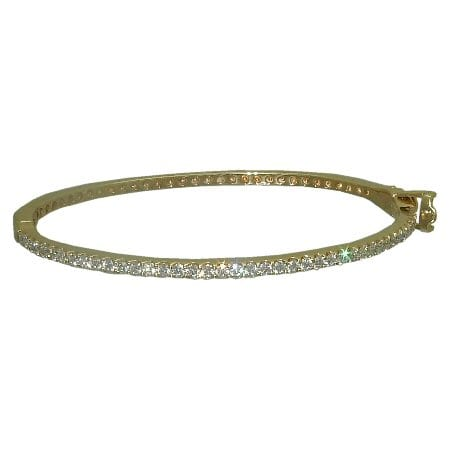 1.16 cttw. Diamond Bangle