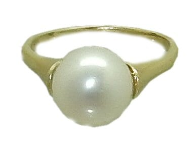 mm Freshwater Pearl Ring